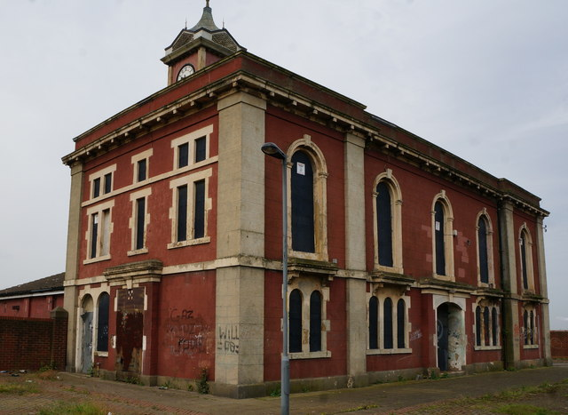 Former Town Hall on East Street, Middlesbrough