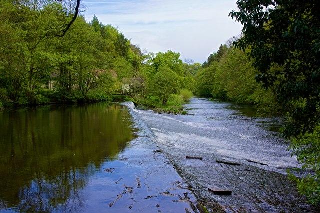 Scotton Weir, Nidderdale