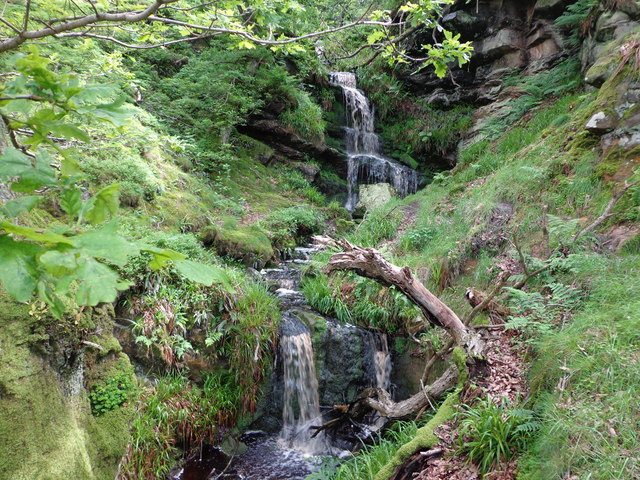 Waterfall on Corby's Letch