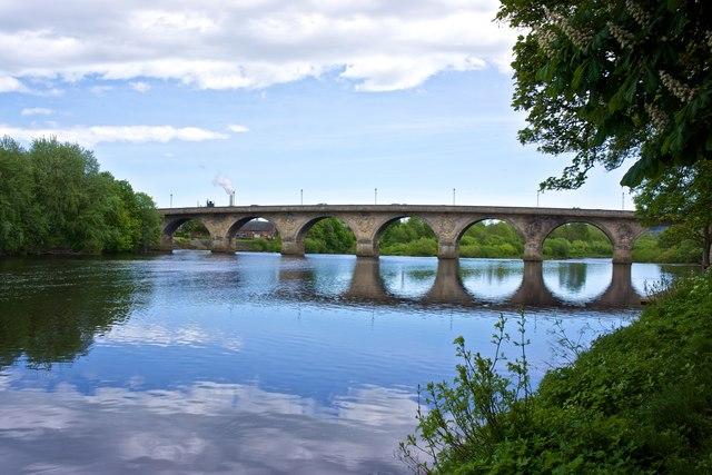 River Tyne, Hexham