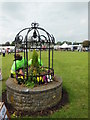 ST6340 : The village green at the Royal Bath and West Show by Virginia Knight