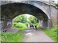 SJ3477 : Bridge over the Wirral Way near Willaston by Oliver Dixon