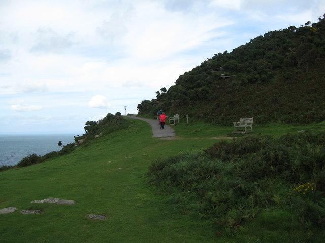 Rest at the foot of Jack-Lynton, North Devon