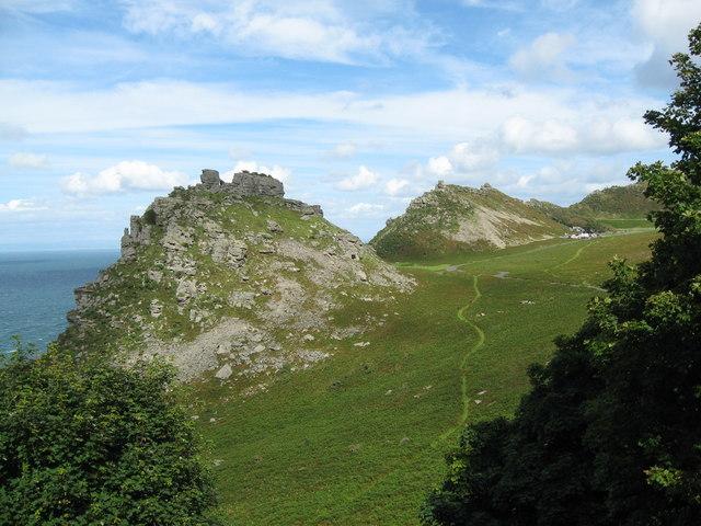 View into the valley-Lynton, North Devon