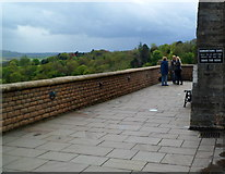 ST5673 : Samaritans Care message on Clifton Suspension Bridge, Bristol by Jaggery