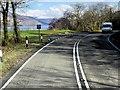 NN0567 : Layby on the A82 alongside Loch Linnhe by David Dixon