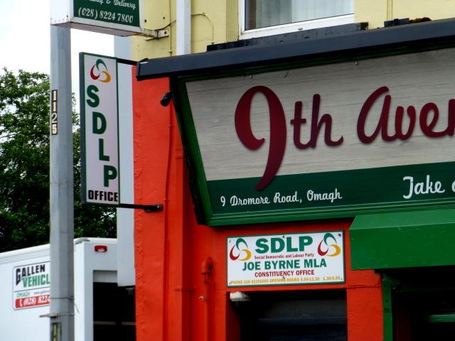 SDLP entrance, Omagh