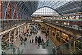 TQ3083 : St Pancras International Station, London N1 by Christine Matthews