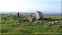 SS4990 : Maen Ceti / Arthur's Stone, Cefn Bryn, Gower by Jeremy Bolwell