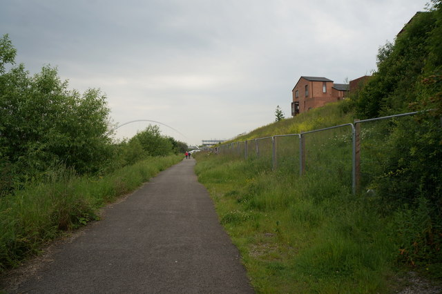 The Teesdale Way towards Stockton on Tees