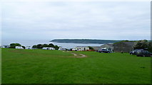 SS5288 : Part of Nicholaston Caravan and Camping Site, Gower by Jeremy Bolwell