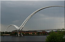 NZ4519 : Infinity Bridge over the River Tees by Ian S