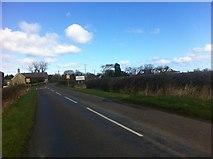 NU2304 : Morwick Road into Warkworth by Darrin Antrobus