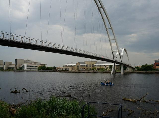 Infinity Bridge over the River Tees