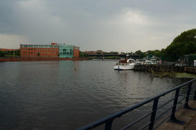 The River Tees, Stockton on Tees