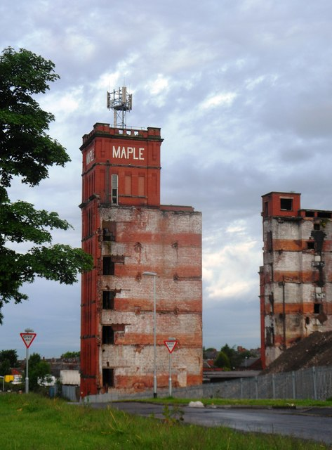 Maple Mill - Now part demolished