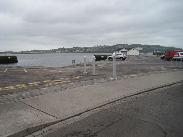 Broughty Ferry Pier railway station (site), Dundee