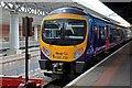 SJ8185 : First TransPennine Class 185, 185135, Manchester Airport railway station by El Pollock
