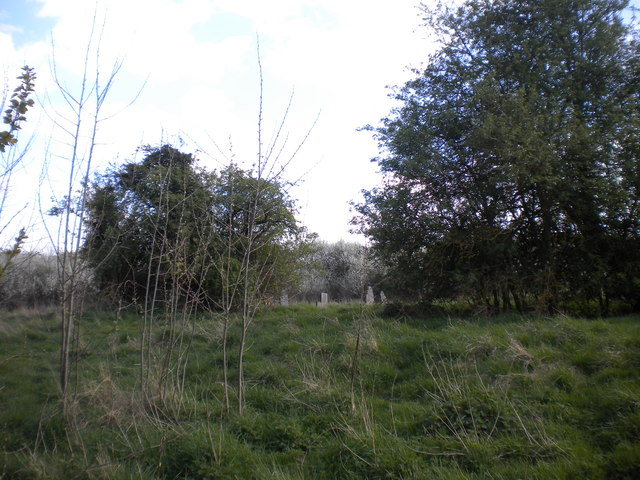 Former churchyard west of Rempstone