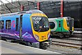 SJ3590 : Trains, platforms 5 and 6, Liverpool Lime Street railway station by El Pollock