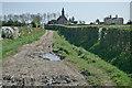 TL5483 : Approaching Chettisham Church by Kim Fyson