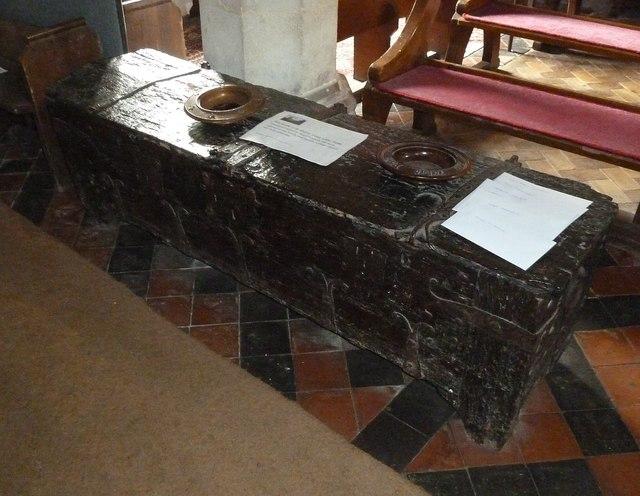 Great Kimble - St Nicholas - Ancient Parish Chest (1)