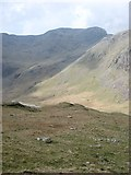 NY2206 : The northern slopes of High Gait Crag by David Purchase
