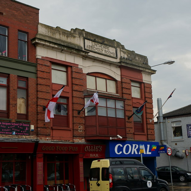 The Linthorpe Assembly Rooms on Linthorpe Road