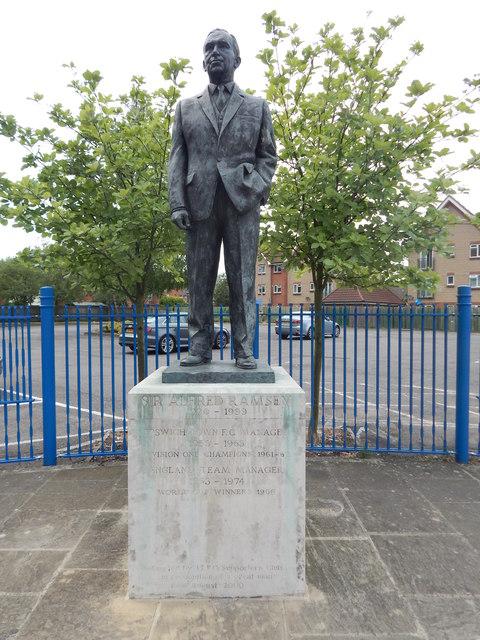 Sir Alf Ramsey Statue