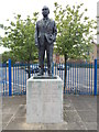 TM1544 : Sir Alf Ramsey Statue by Hamish Griffin