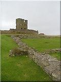 TA0489 : Scarborough castle. by steven ruffles