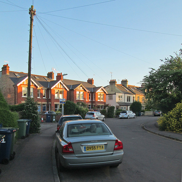 Evening sunlight, Hartington Grove