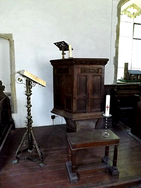 Lectern & Pulpit  of St. Peter's Church