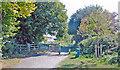 ST7814 : Sturminster Newton: Trailway on track-bed of former Somerset & Dorset Railway by Ben Brooksbank