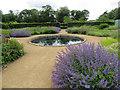 SE8675 : Ornamental pond, Scampston by Pauline E