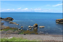 NS2515 : Shoreline at Dunure by Billy McCrorie
