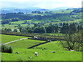 NY5119 : Valley of the River Lowther at Knipe by Oliver Dixon