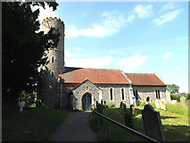 TM4077 : St.Peter's Church, Holton by Adrian Cable