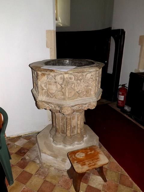 Font of St.Peter's Church