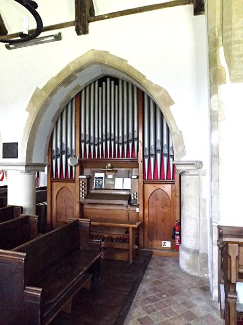 Organ of St.Peter's Church