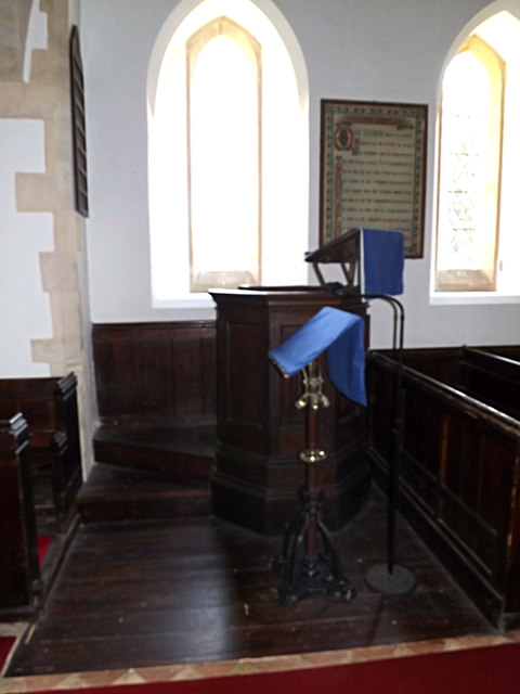 Pulpit of St.Peter's Church
