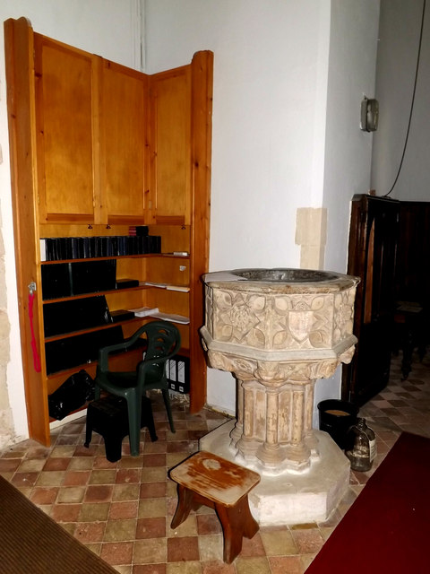Font of St. Peter's Church