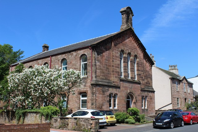 Former United Presbyterian Church, Wallace Street, Galston