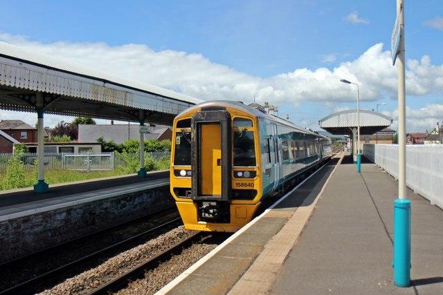 Arriva Trains Wales Class 158, 158840, Gobowen railway station