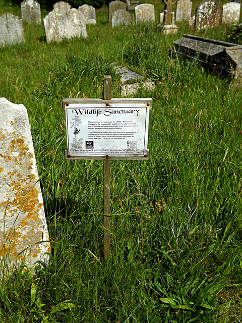 St.Peter's Church Wildlife Sanctuary sign