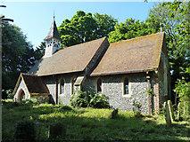TR3254 : Ham church by Robin Webster