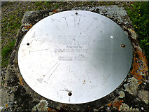 SK7060 : Toposcope, Maplebeck Viewpoint by Alan Murray-Rust