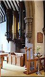 TQ2792 : St James the Great, Friern Barnet Lane, now St Katherine's Greek Orthodox Church - Organ by John Salmon