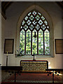 TM4280 : Altar  & Stained Glass Window of St.Andrew's Church by Adrian Cable