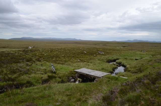 A Remote Bridge on the Allt Garbh Beag in Sutherland